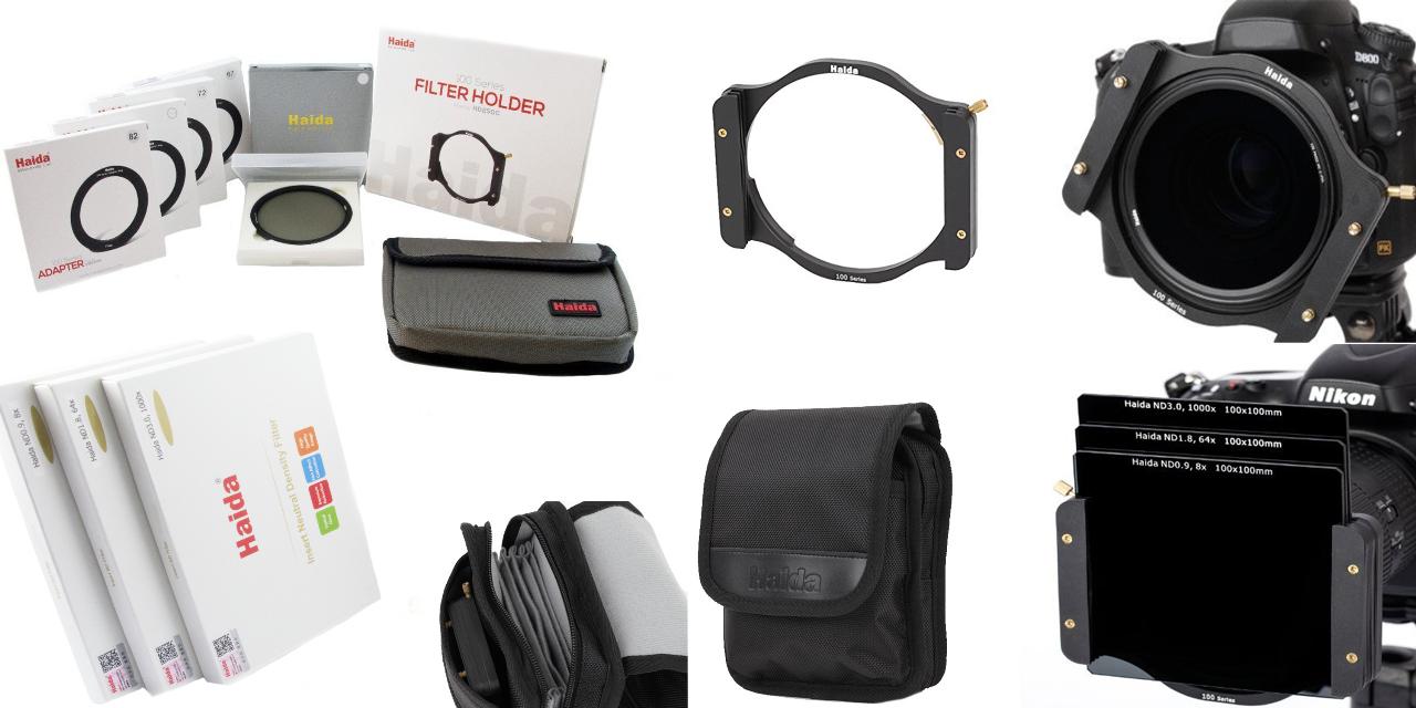 haida serie 100 nd starterset ii filterhalter adapterringe 67 82 mm polfilter sowie nd 8x. Black Bedroom Furniture Sets. Home Design Ideas