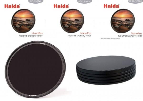 Haida NanoPro MC Ultra Slim ND Filterset 8x, 64x, 1000x
